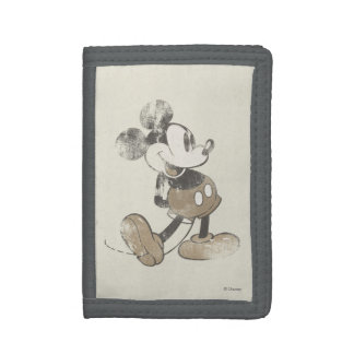 Vintage Mickey Mouse 1 Tri-fold Wallets