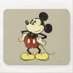 Vintage Mickey Mouse 2 Alfombrilla De Ratones