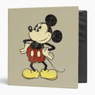 "Vintage Mickey Mouse 2 Carpeta 1 1/2"""