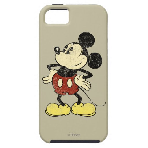 Vintage Mickey Mouse 2 iPhone 5 Cover