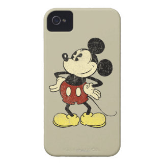 Vintage Mickey Mouse 2 iPhone 4 Cover
