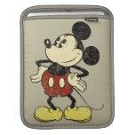 Vintage Mickey Mouse 2 Fundas Para iPads