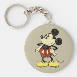 Vintage Mickey Mouse 2 Llaveros