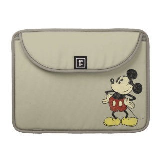 Vintage Mickey Mouse 2 Sleeves For MacBook Pro