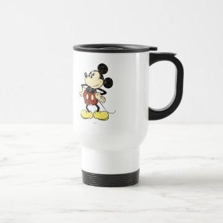 Vintage Mickey Mouse 2 Mugs
