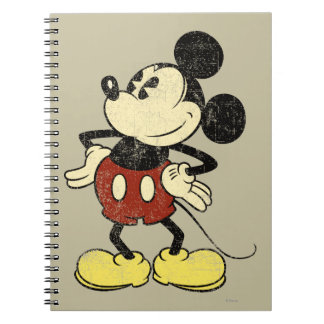 Vintage Mickey Mouse 2 Note Book
