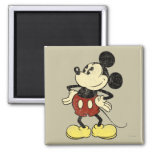 Vintage Mickey Mouse 2 Refrigerator Magnet