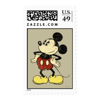 Vintage Mickey Mouse 2 Sellos