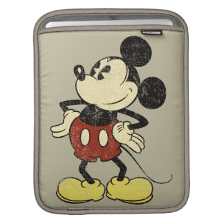 Vintage Mickey Mouse 2 Sleeve For iPads