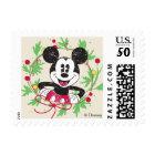 Vintage Mickey Mouse | Christmas Wreath Postage