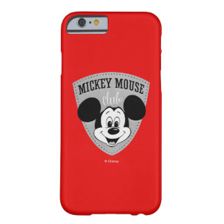 Vintage Mickey Mouse Club Barely There iPhone 6 Case