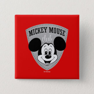 Vintage Mickey Mouse Club Pinback Button