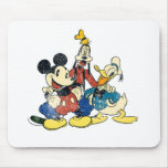 Vintage Mickey Mouse & Friends Mouse Pad