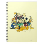Vintage Mickey Mouse & Friends Notebooks