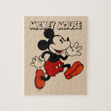 Vintage Mickey Mouse Jigsaw Puzzle