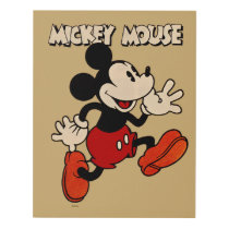 Vintage Mickey Mouse Panel Wall Art