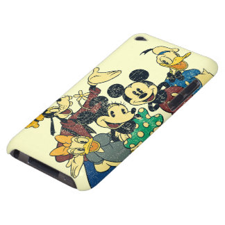 Vintage Mickey Mouse y amigos Case-Mate iPod Touch Protector