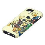 Vintage Mickey Mouse y amigos iPhone 5 Case-Mate Coberturas