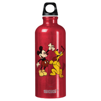 Vintage Mickey Mouse y Plutón