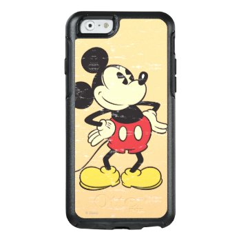 Vintage Mickey Otterbox Iphone 6/6s Case by MickeyAndFriends at Zazzle