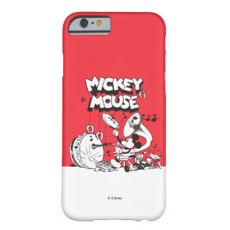 Vintage Mickey Silly Insturments Barely There iPhone 6 Case