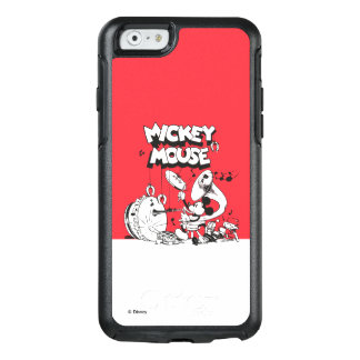 Vintage Mickey Silly Insturments OtterBox iPhone 6/6s Case