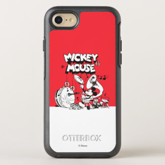 Vintage Mickey Silly Insturments OtterBox Symmetry iPhone 7 Case