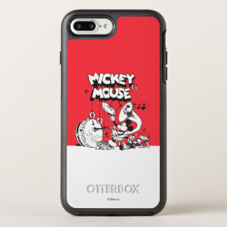 Vintage Mickey Silly Insturments OtterBox Symmetry iPhone 7 Plus Case