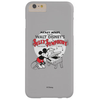 Vintage Mickey Silly Symphony Barely There iPhone 6 Plus Case