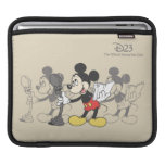 Vintage Mickey Sleeves For iPads