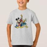 Vintage Mickey, torpe, Donald de Mickey y de los Playera