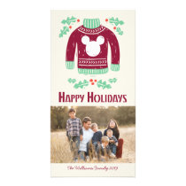 Vintage Mickey | Warm & Cozy Card