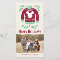 Vintage Mickey | Warm & Cozy Holiday Card