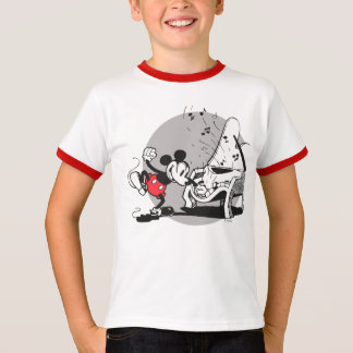Vintage Mickey WIth Piano T-Shirt