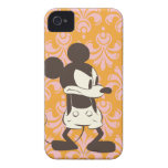 ¡Vintage Mickey - Yep! iPhone 4 Case-Mate Coberturas