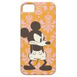 ¡Vintage Mickey - Yep! iPhone 5 Funda