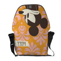 Vintage Mickey - Yep! Messenger Bags at Zazzle