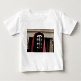 Vintage microphone cloak baby T-Shirt