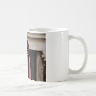 Vintage microphone cloak coffee mug