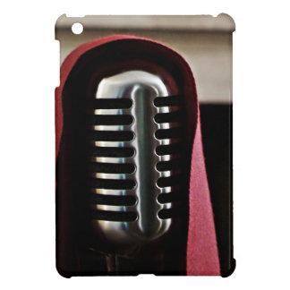 Vintage microphone cloak iPad mini cases