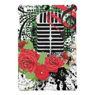 Vintage Microphone Grunge 2 iPad Mini Case