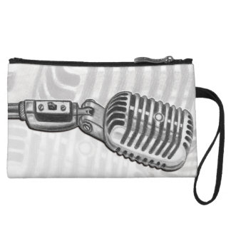 Vintage Microphone Mini Clutch