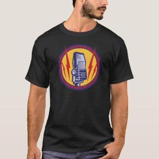 Vintage microphone shirt