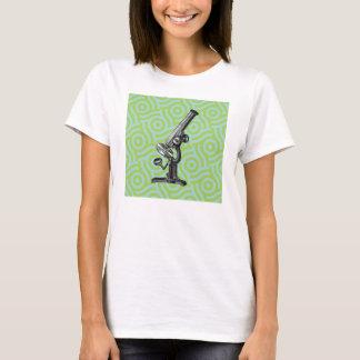 Vintage Microscope Pop Art T-Shirt