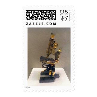 Vintage Microscope Postage