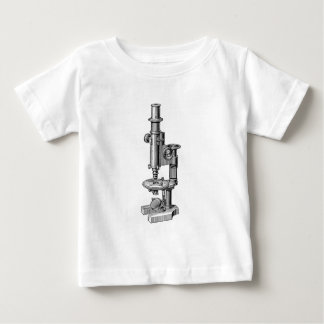 Vintage Microscopes Old Antique Science Microscope Baby T-Shirt