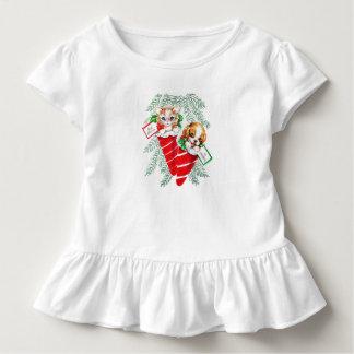 Vintage Mid Century Beautiful Baby Puppy Kitten Toddler T-shirt