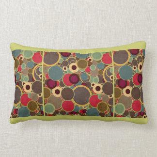 Vintage, Mid-Century Modern Circles Throw Pillow