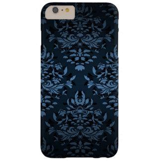 Vintage Midnight Blue Damask iPhone 6 Plus Case