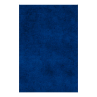Vintage Midnight Blue Paper Parchment Template Poster